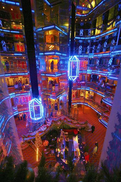 Inside Carnival Ecstasy Cruise Ship