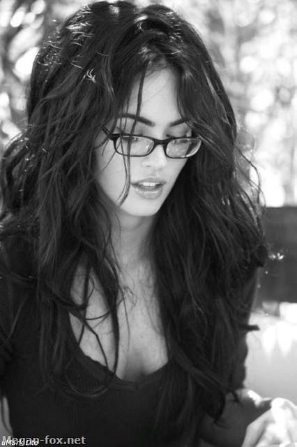 Megan Fox wearing glasses | Flickr - Photo Sharing!