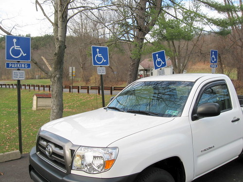 Misuse of disabled parking spaces