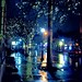 Rainy night on Church St. by ellenm1
