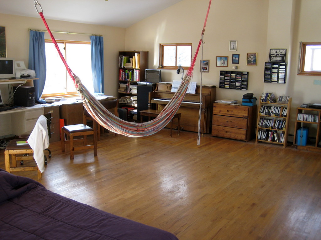 Bedroom hammock for Diy bedroom hammock