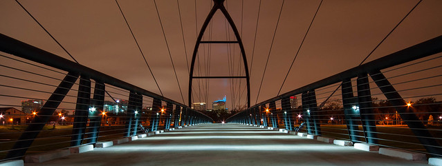 Walk bridge @ Brays Bayou