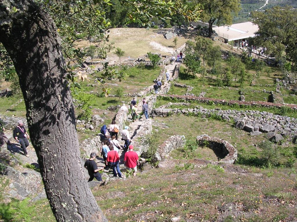 Citania de Briteiros: general view from hilltop