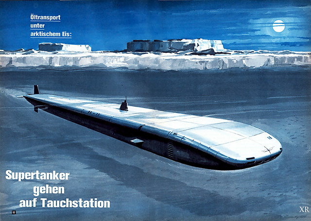 1970 ... submarine super-tanker!