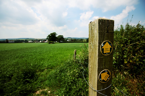 Footpaths Across Devon