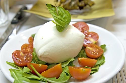 Mozzarella Di Bufala e Pomodorini