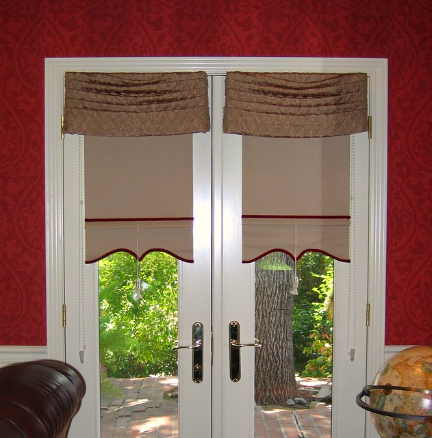 Dressing French Doors | Flickr - Photo Sharing!