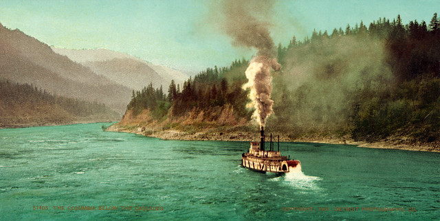 Columbia River below the Cascades, Washington–Oregon border, 1901