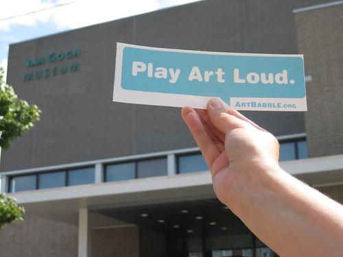Van Gogh Museum plays art loud