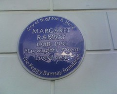 Photo of Margaret Ramsay blue plaque