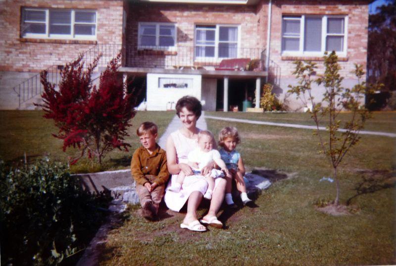 the back yard 1963