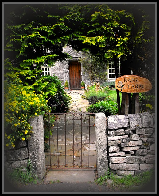 The Secret Cottage Beyond The Garden Gate A Photo On