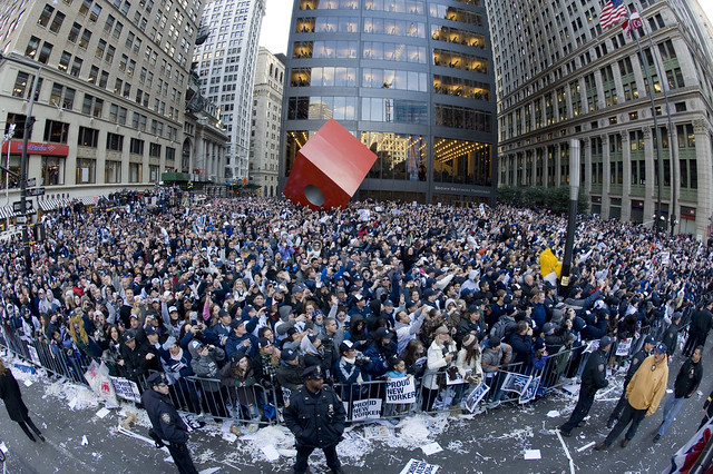 Yankees Ticker Tape Parade and Celebration at City Hall