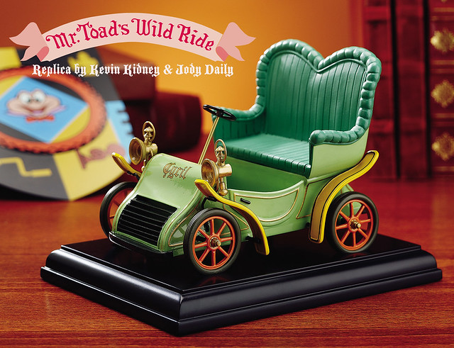Mr. Toad's Wild Ride Motorcar Replica