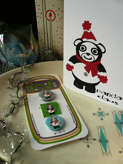 holly jolly gift set (panda claus)