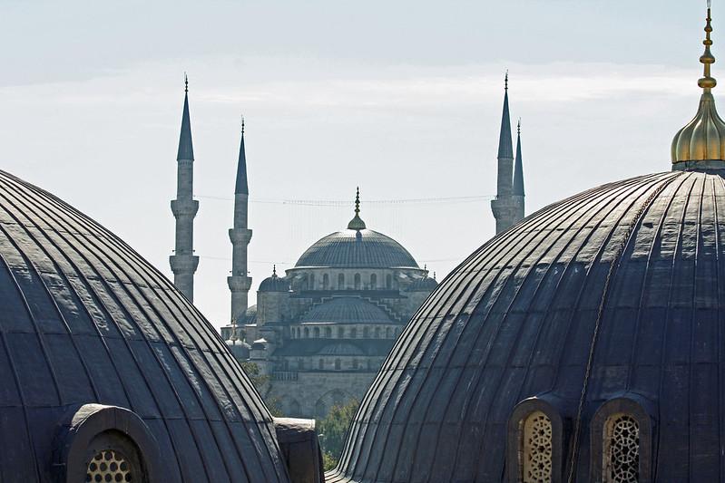 Istanbul - Oct 2008 - Sultan Ahmet from Agia Sophia