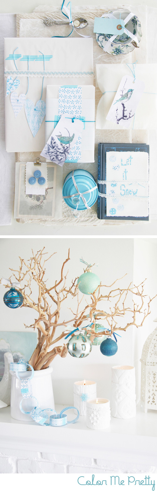 Holiday tones of blue decor8 for Decor8 home and holiday