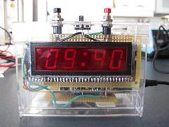 Retro LED Clock