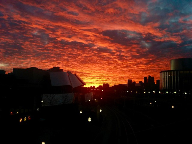 Burning sky... University of Minnesota