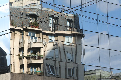 Bucharest reflection