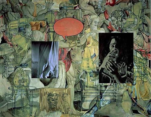 David Salle-Mingus in Mexico by Art Images Directory
