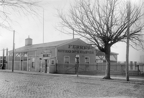 NY and College Point Ferry Company Ticket Office, ca. 1905