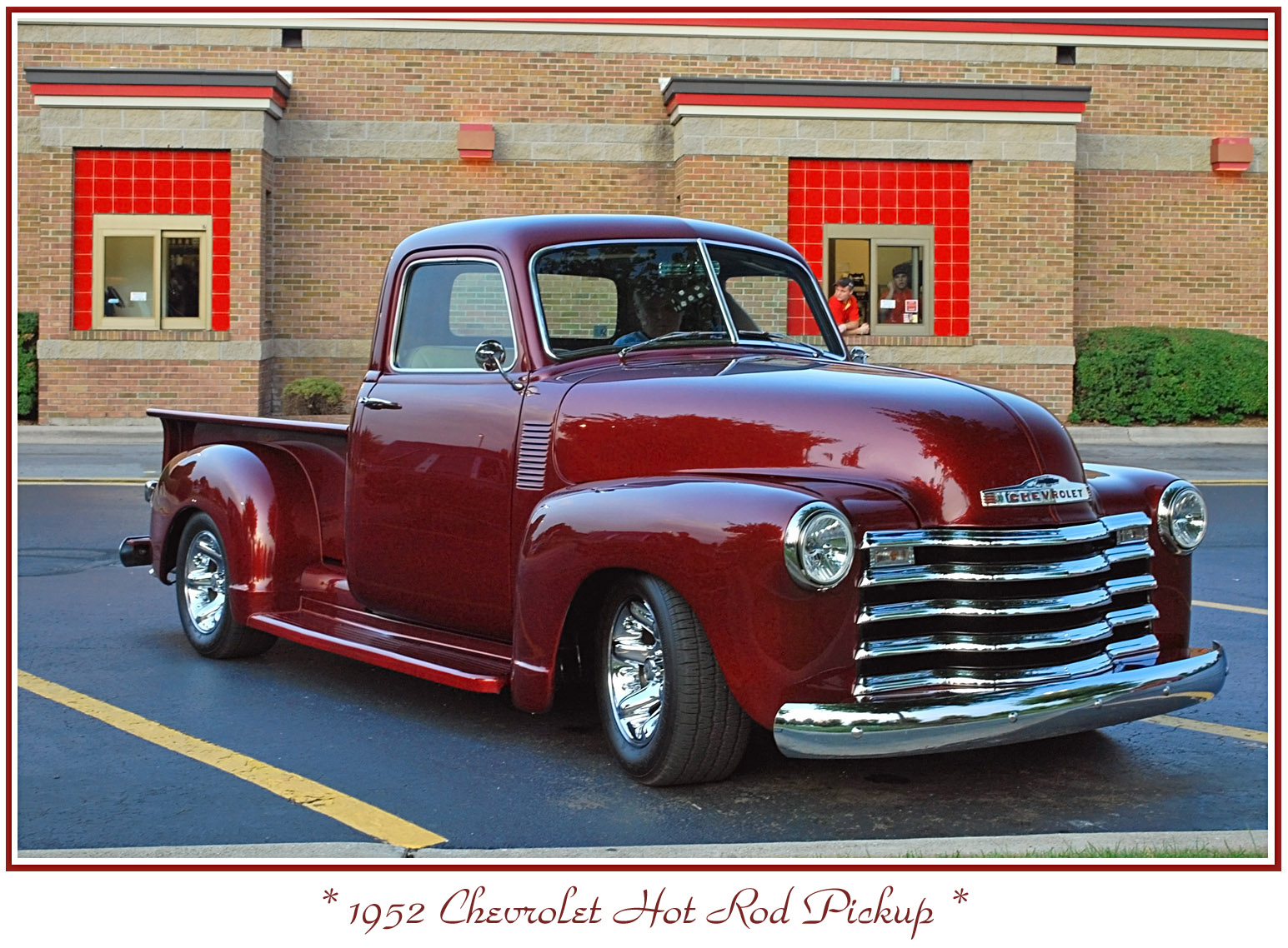 Pickup 48 chevy pickup parts : Candy Apple Red 1952 Chevy Pickup | Truck of my Dreams | Pinterest ...