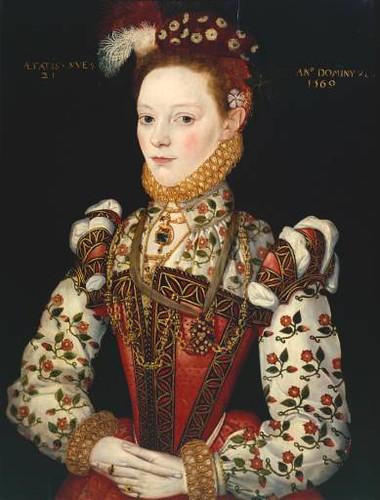 Queen Elizabeth Renaissance Helena Snakenborg, Mar...