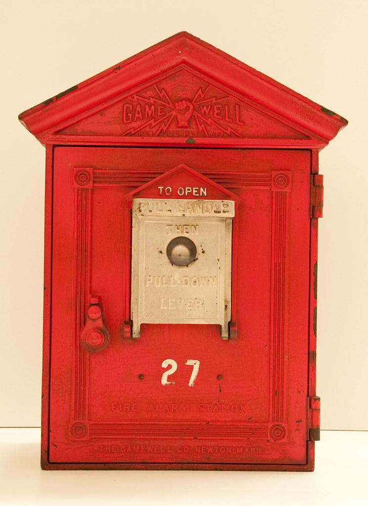 Back Up Alarm >> Wilmington Fire Department, DE - 1930's Gamewell Fire ...