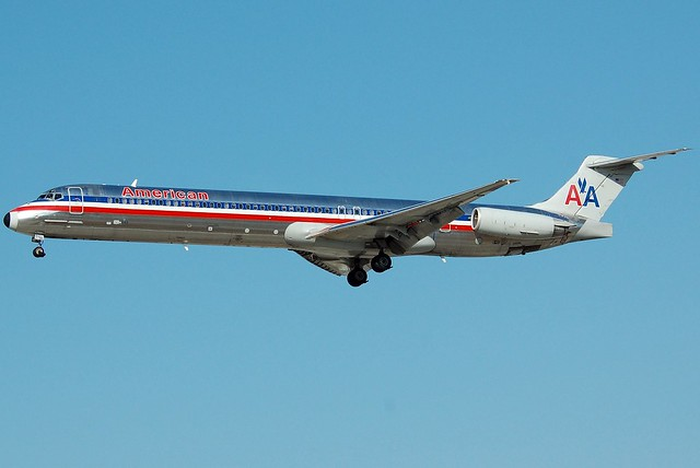 American Airlines S80 Jet http://www.flickr.com/photos/richsnyder/3837766232/