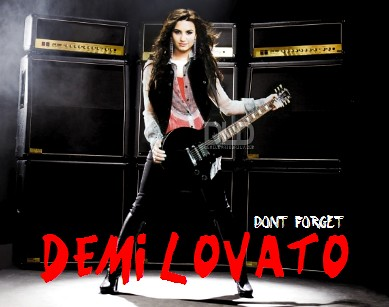 Demi Lovato Forget Album on Don T Forget   Demi Lovato Album Cover   Flickr   Photo Sharing
