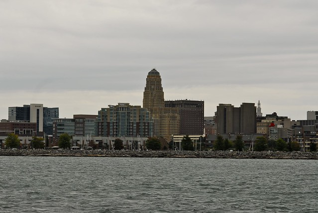 Downtown from buffalo river - 1