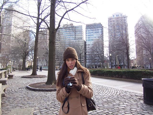 anna runs the video camera