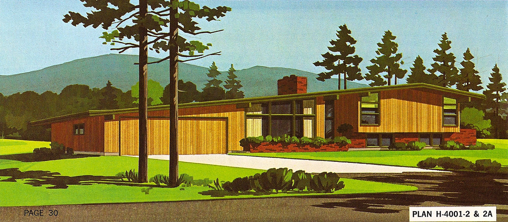 Mid 20th Century Ranch House Plans 2 House Design And