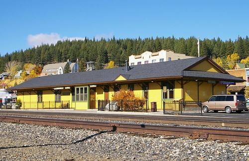 Truckee, CA train station & Welcome Center