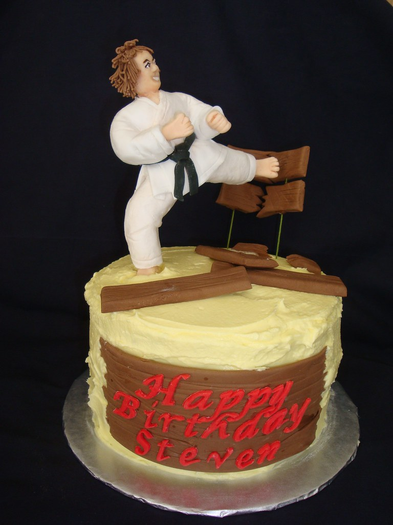 Karate Cake - a photo on Flickriver