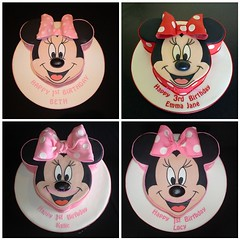 The 4 incarnations of Minnie Mouse!