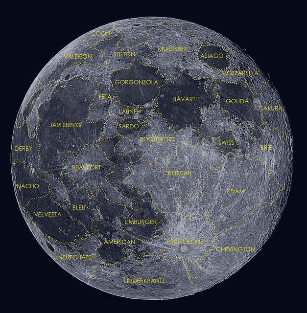 Moon Map Flickr Photo Sharing