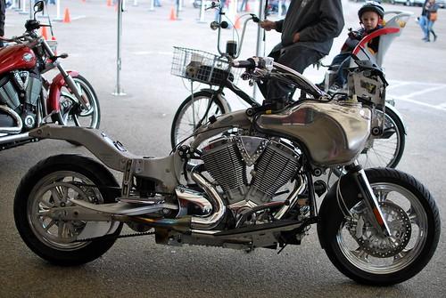 a naked bike..