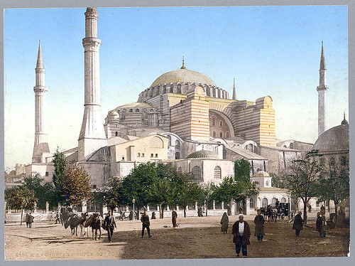 [Mosque of St. Sophia, Constantinople, Turkey] (LOC)