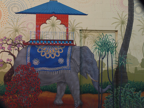 Elephant Graffiti by Franco Folini