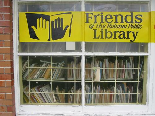 friends of the rotorua public library