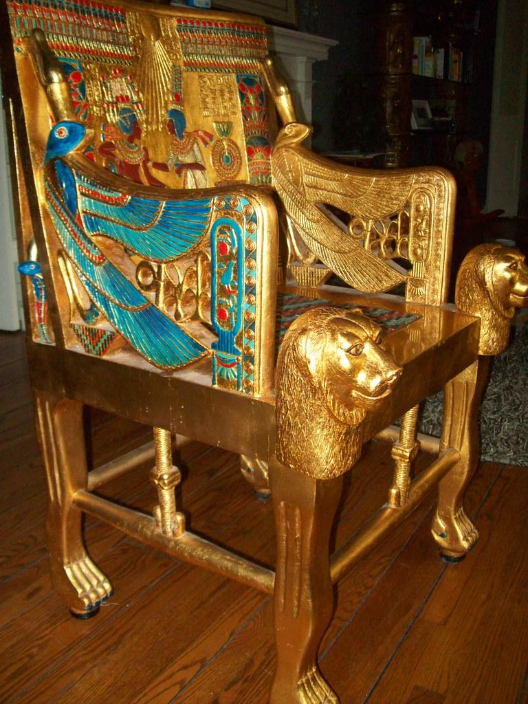 Как сделать трон и из чего