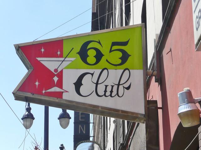 65 CLUB SAN FRANCISCO CALIF.