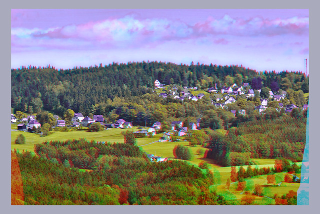 Hahnenh user Stereoscopic Cross View 3D