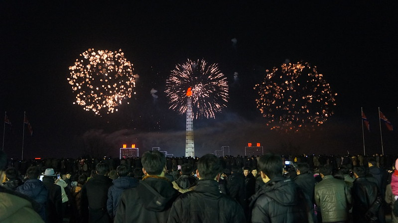 New Year's in Kim Il Sung Square