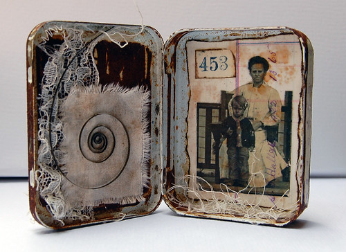 "Altered Tin ""Home"" - inside"