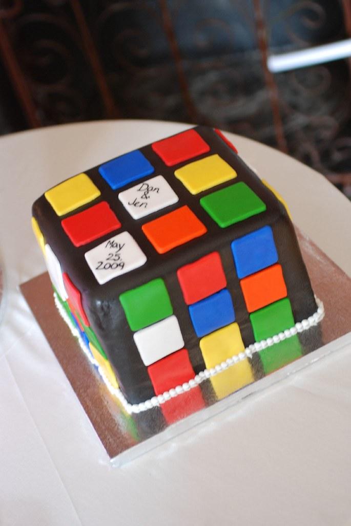 Rubix Cube Cake Images
