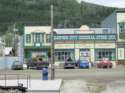 General Store in the main Street of Dawson City, Yukon