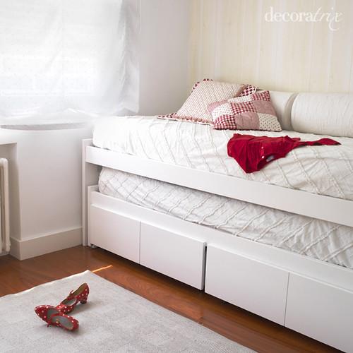 Muebles blancos en la habitaci n de los ni os 1 flickr - Muebles habitacion ninos ...